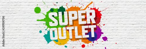 Super outlet Fototapet