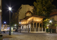 Bucharest Old City Centre Pano...