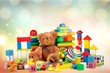 canvas print picture - Toys.