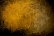 Grungy Yellow Background Or Texture