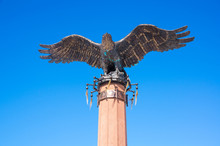 Monument To The Eagle - A Symbol Of Shamanism