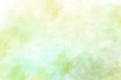 canvas print picture - Light green watercolor background
