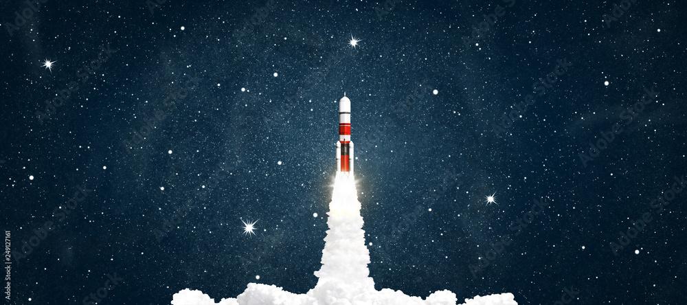 Fotografie, Obraz  rocket