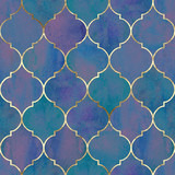 Vintage decorative grunge indian, moroccan seamless pattern - 249129165