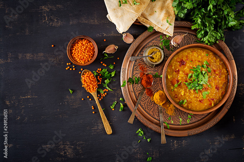 Photo  Indian dal