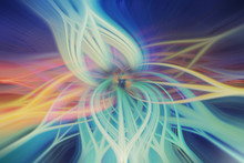 Abstract Motion Twirl Fibers Design Pattern Background