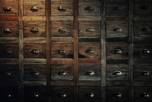 Traditional Chinese Medicine Chest (drawer, Cabinet).