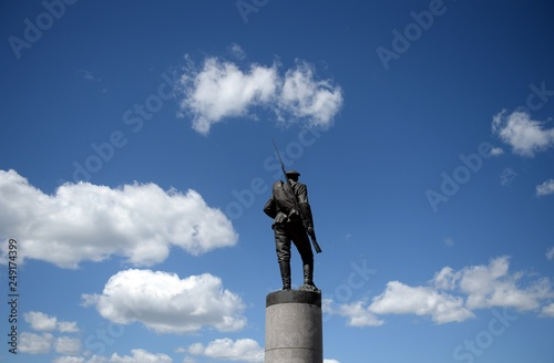 Fotografia  Monument to the heroes of the First World War on Poklonnaya Hill in Moscow