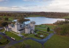 Dromoland Castle Aerial View.  Ireland, November 2018