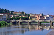 The Ponte alle Grazie bridge is the longest in Florence and eldest