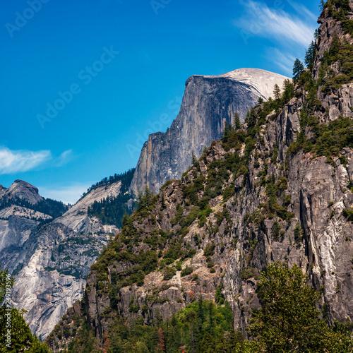Yosemite Half Dome Canvas Print