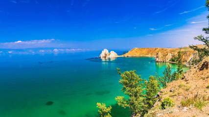 Lake Baikal Olkhon Shaman Rock