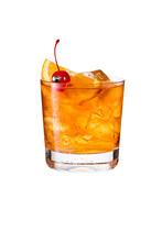 Refreshing Bourbon Old Fashion...