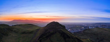 Aerial View Over Arthur's Seat...