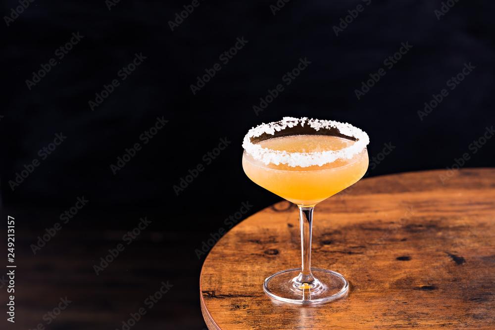 Fototapeta Refreshing Orange Sidecar Cocktail