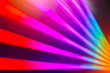 canvas print picture - rainbow colorful light effect for background