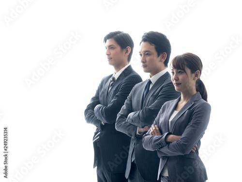 Fototapeta ビジネスチーム