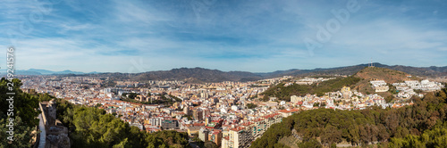 Recess Fitting Athens Panorama View of Malaga