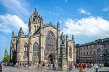 St Giles Cathedral On Royal Mi...