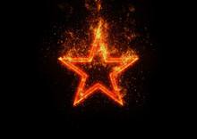 抽象的な星