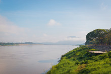 Mekong River View Take From Ch...