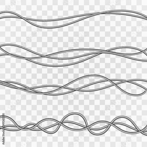 Cuadros en Lienzo  Electrical cables