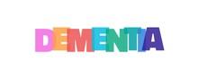 Dementia Word Concept