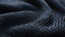 The Texture Of The Fabric. Blu...