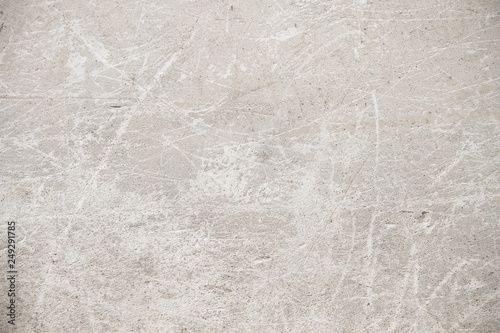 Old white scratched wall Canvas Print