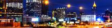 Illuminated Midtown In Atlanta...