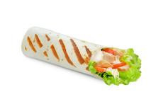 Mini Shawarma Isolated