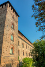 The Tower Of The Castle Of Pavia
