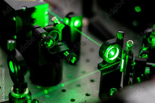 Obraz na plátně electric circuit ionization with laser b