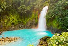 Rio Celeste Waterfall Tenorio National Park