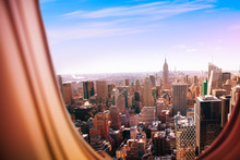 New York City View From Plane ...