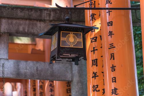 Photographie Fushimi Inari Taisha Shrine in Kyoto japan