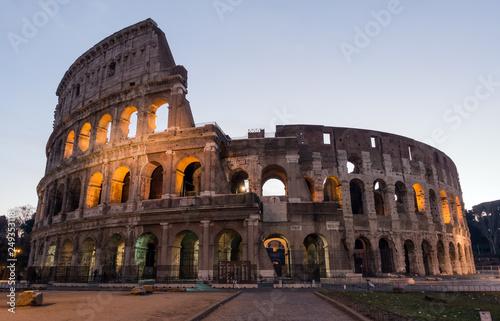 Fotografie, Obraz  The Colosseum or Coliseum, Flavian Amphitheatre in Rome, Italy
