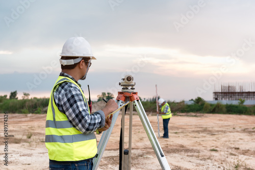 Surveyor equipment Slika na platnu