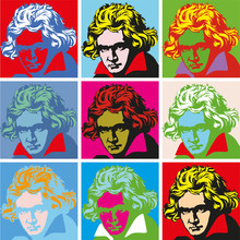 Portrait Of Beethoven Portraits Of Famous Historical Figure