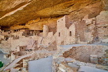 Structures At  Cliff Palace,  Mesa Verde National Park
