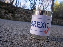 Brexit Tin Can In The Road Rea...