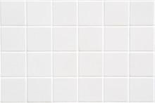 White Ceramic Tile With 24 Squares In Rectangular Form