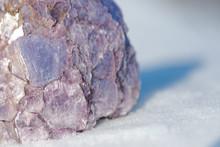 Rough Purple Lepidolite Cluste...