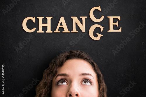 Fotografía  change / chance