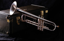 Trumpet And Its Case