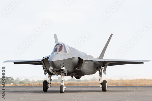 Fotografie, Obraz  Lockheed Martin F-35A Lightning II