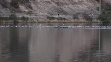 Nimbus Dam Lake Natoma Up Stream