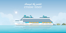 Cruise Liner Passenger Ship.