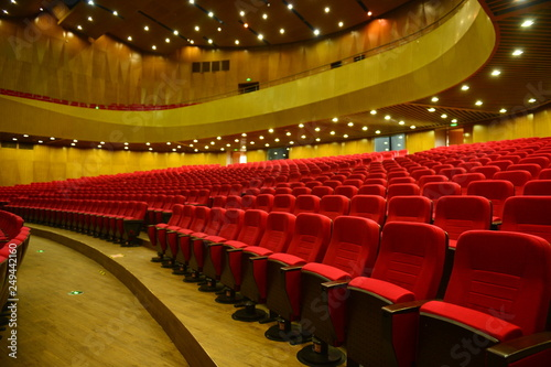 The auditorium seats Canvas Print