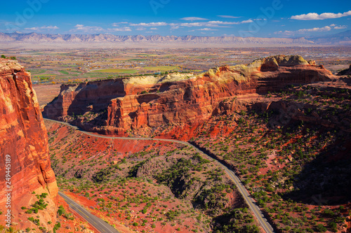 Colorado National Monument. National park in the Mesa County, Colorado. USA.